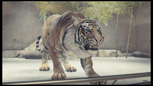 人食いの獣王の虎