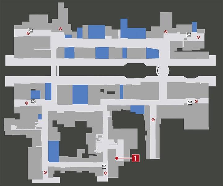 龍が如く7の大阪・蒼天堀:にぎにぎの居場所マップ