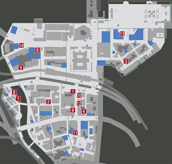 伊勢佐木異人町の飲食店マップ