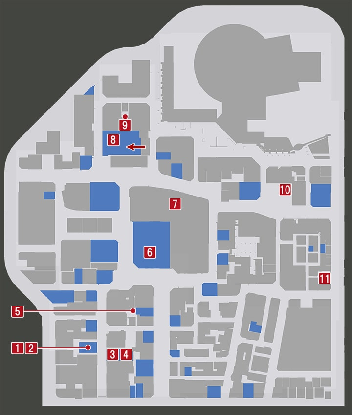 龍が如く7の東京・神室町にある金庫・銀庫の入手場所マップ