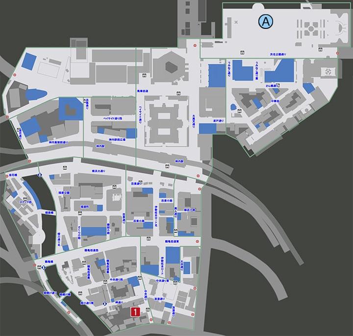 サブストーリーNo14『守りたいもの』の攻略マップ