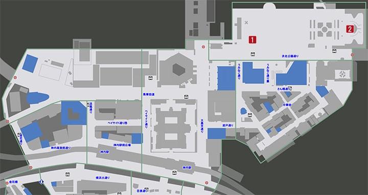 サブストーリーNo37『アニマル大サーカスへようこそ1』の攻略マップ