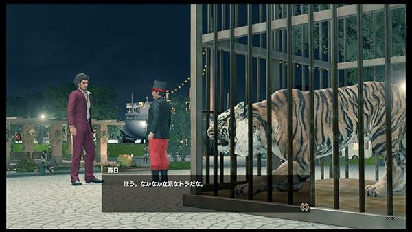 虎のシャルロットのカットシーン