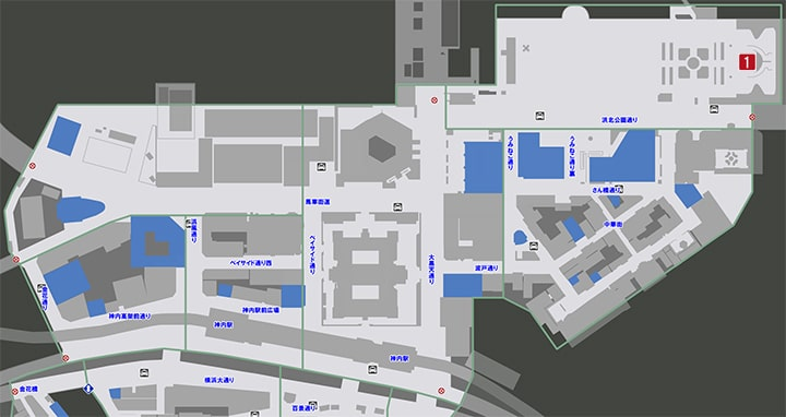 サブストーリーNo38『アニマル大サーカスへようこそ2』の攻略マップ