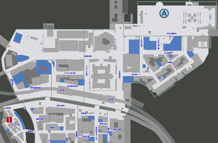 サブストーリーNo50『秘密のチャット』の攻略マップ