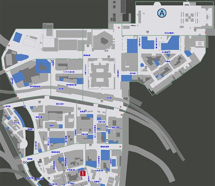 サブストーリーNo51『本当の君』の攻略マップ