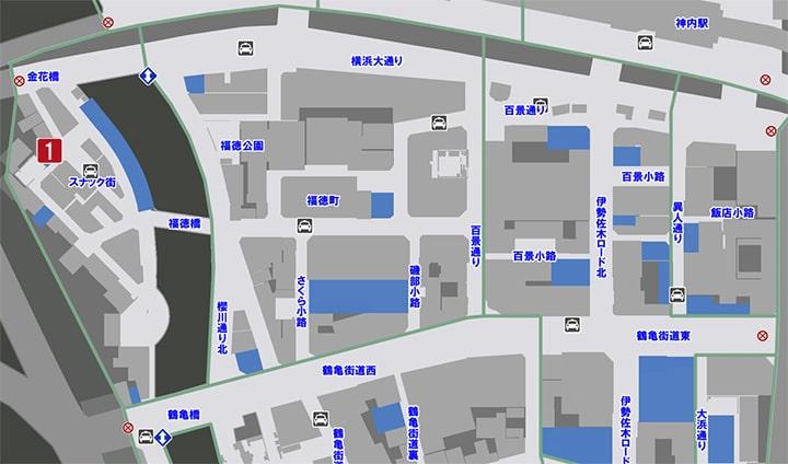 サブストーリーNo52『修羅場』の攻略マップ